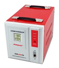 SVB 5000VA AC Voltage Stabilizer Low Price Red Color 220 V Power Regulator Equipment