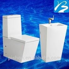 Sanitary White Bathroom Suite