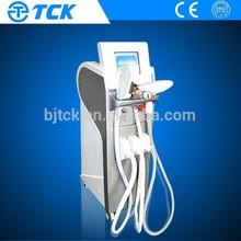 China supplier beauty equipment rf nd yag laser e light salon fixtures