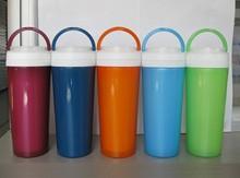 2014 New Plastic Portable Bottle ,Leak-proof Cup, Sports Travel Interval Water Bottle