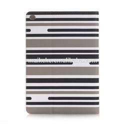 zebra design leather case for ipad 6 6PAD-L044