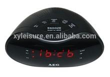 "0.6"" LED CLOCK PLL AM/FM RADIO LED CLOCK RADIO"