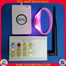 Party/concert/event/bar new coming 125khz field work rfid bracelet