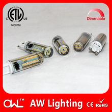 Hong Kong LED CE RoHS ETL silicone 110v G9 LED ceiling