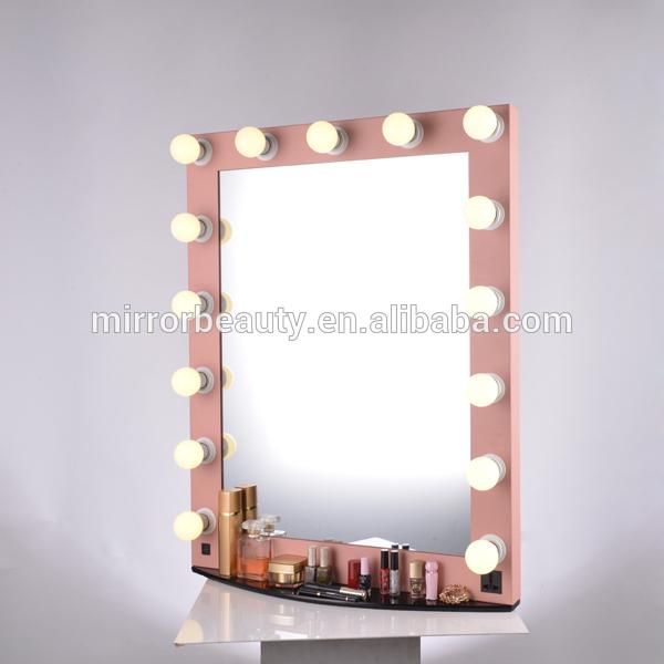Fantaisie salon lumineux hollywood miroir de maquillage for Miroir hollywood