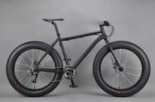 26 inch Snow bike tandem bicycle frame steel