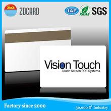 fashionable design business card printing custom pvc card