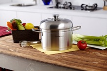 2 Tier food steamer for induction cooker