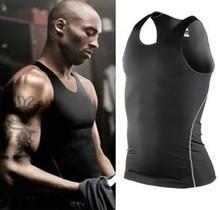 Men's Sports Training Quick Dry Fitness Compression Vest/Wear