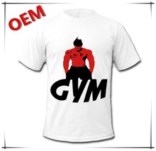 2015 top fashion wholesale gym t shirts.