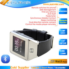 1.54 inch 240x240 MTK6260A Chipset Android Hand Watch Mobile Phone