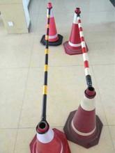 70cm rubber traffic cone used traffic cones