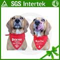 Alibaba español en la venta caliente de alta calidad 100% de algodón lindo diseño de venta al por mayor de perro bandana
