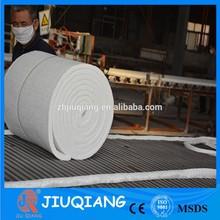 Ceramic fiber steam pipe insulation