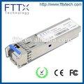 1000 base ricetrasmettitore ottico 80 km cwdm 1.25g sfp fibra ottica modulo ricevitore