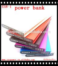 Creative Lithium-ion polymer ultra-thin power bank 4800mah fashion design power bank perfume 5600mah