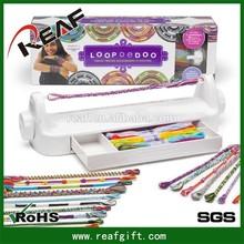 Loopdedoo kit,make bracelet kit,hand waving rope DIY bracelet jewelry toy