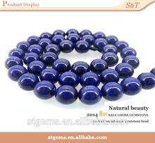 Loose charm gemstone lapis lazuli natural stone wholesale chunky beads