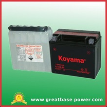 dry maintenance free motorcycle battery of good quality-YTX12-BS with acid pack