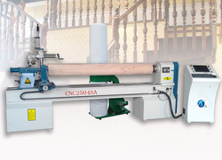 High quality and low price CNC2504SA automatic wood turning copy lathe for sale