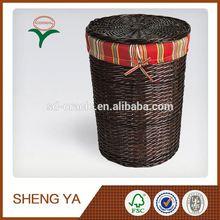 Knitted Wicker Storage Basket Alibaba China