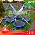 Barato e Popular venda! Playground / plaza as crianças jogos de 4 pessoas crianças brincam bungee trampolim