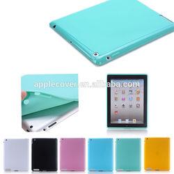 True color soft ultra slim TPU case for iPad 2 3 4