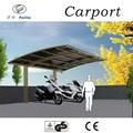 policarbonato e alluminio posto auto coperto capannoni di stoccaggio del pvc