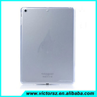 2014 Hot Clear TPU Jelly Gel Rubber Soft Case Cover For Apple iPad Air iPad 6