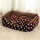 Luxury dog bed, warm dog cushion, dog pad