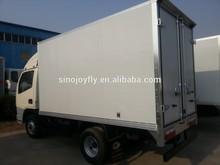 hot sell FOTON dry box truck, heavy duty cargo van truck ,dry freight truck box /thermal truck body