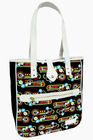 Abstract Pattern Printed Canvas Gerisy Women Tote Bag