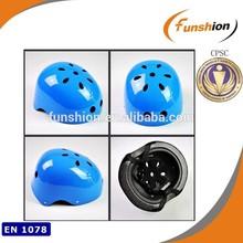 blue sport support set for kid pads helmet skate shoes inline shoes helmet