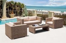 Vivi new hotel Sythetic wicker /rattan lounge /Sofa outdoor Garden Furniture