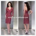 Sexy formal vestidos cortos de los patrones, pieza 2 vestidos formales, por la noche vestidos formales
