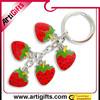 high quality cheap love heart shape metal key chain metal keychain