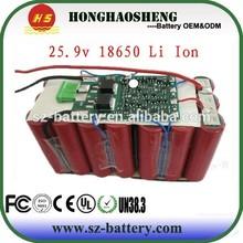 Smart Charger for 25.9v 9000mah Li-ion or Li-Polymer Battery Pack