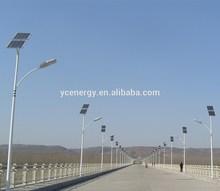 30W LED solar lighting system 6M lamp pole 12V DC solar street light