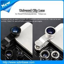 Macro,Wide Angle and fisheye camera lens universal zoom telescope for mobile phone iphone camera lens