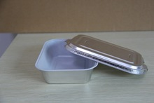 Sealable Aluminium Foil Food Tray with Lid