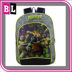 Promotion Newest Kids Cartoon Backpack Children carton bag kids tmnt school backpack
