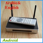 Quad core No monthly payment with over 800+ free Arabic tv channels Arabic IPTV box android tv box