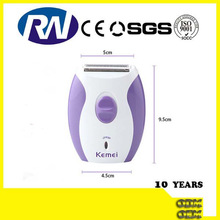 2014 CE test Beauty Female Electric Shaving Razor with triple blade