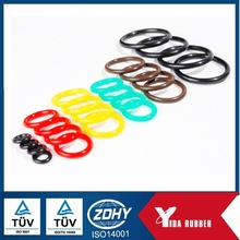 Customize different size and color NBR o ring / Silicone o ring for sealing
