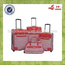 Pink Flower High-end Fashional Girls Trolley Bag Description