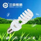 hot sell long life 220v 15w energy saving cfl