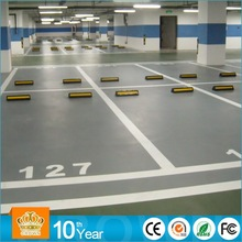 2MM heavy duty epoxy floor coating for car park