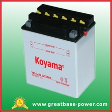 YB14L-B2 Motor Scooter Batteries 12V14Ah Motorcycle Wet Battery with Acid Pack