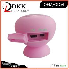 Best colorful Sucker mini mushroom speaker for bluetooth device active karaoke speaker active karaoke speaker
