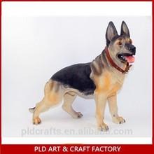 Life size Polyresin Dog /Life size Dog Statue/Dog decoration